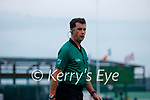 Referee, John O'Halloran during the County Senior hurling Semi-Final between St. Brendans and Causeway at Austin Stack park on Sunday.