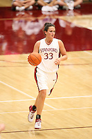 8 January 2007: Stanford Cardinal Jillian Harmon during Stanford's 69-54 win against the South Carolina Gamecocks at Maples Pavilion in Stanford, CA.