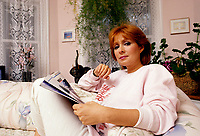 FILE - EXCLUSIF -  Reine Malo<br /> <br /> , circa 1986<br /> <br /> Photo : Jean-Pierre Karsenty - Publiphoto <br />   - Agence Quebec Presse