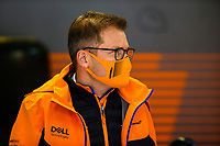 24th September 2021; Sochi, Russia; F1 Grand Prix of Russia free practise sessions; Andreas Seidl GER, McLaren F1 Team, F1 Grand Prix of Russia at Sochi Autodrom