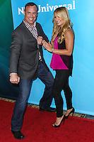 PASADENA, CA, USA - APRIL 08: Matt Iseman, Jenn Brown at the NBCUniversal Summer Press Day 2014 held at The Langham Huntington Hotel and Spa on April 8, 2014 in Pasadena, California, United States. (Photo by Xavier Collin/Celebrity Monitor)