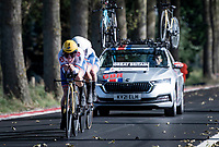 Womens Team Great-Britain<br /> <br /> Mixed Relay TTT <br /> Team Time Trial from Knokke-Heist to Bruges (44.5km)<br /> <br /> UCI Road World Championships - Flanders Belgium 2021<br /> <br /> ©kramon