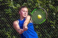 Hilversum, Netherlands, August 5, 2021, Tulip Tennis center, National Junior Tennis Championships 16 and 18 years, NJK, Girls single 18 years, Renske Ubachs (NED)<br /> Photo: Tennisimages/Henk Koster
