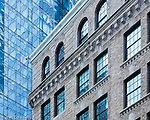 The Intercontinental Boston and 500 Atlantic Avenue on the waterfront, Boston, Massachusetts, USA