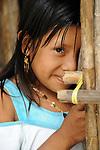 Indígenas guna / comarca de Guna Yala, Panamá.