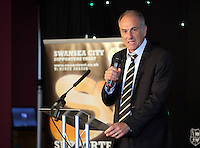 Pictured: Manager Francesco Guidolin Wednesday 11 May 2016<br /> Re: Awards Dinner 2016, at the Liberty Stadium, south Wales, UK.