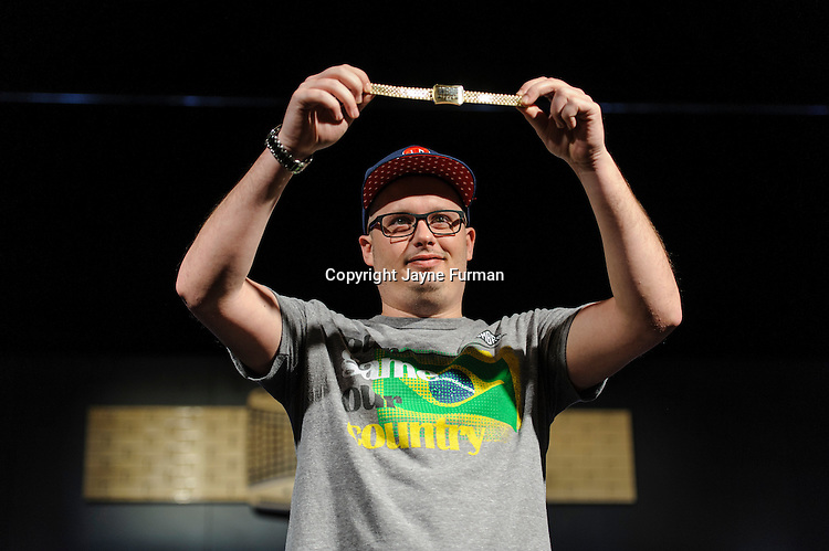 Paul Volpe, winner of Event #13: $10,000 No-Limit 2-7 Draw Lowball Championship