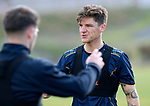 St Johnstone Training….Ross Callachan pictured during training at McDiarmid Park ahead of Sundays game against Celtic.<br />Picture by Graeme Hart.<br />Copyright Perthshire Picture Agency<br />Tel: 01738 623350  Mobile: 07990 594431