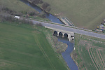 Aerial view of Duleek Bridge over the River nanny, Duleek, Co.Meath. 12/04/05...Photo NEWSFILE/Fran Caffrey.(Photo credit should read Fran Caffrey/NEWSFILE)....This Picture has been sent you under the condtions enclosed by:.Newsfile Ltd..The Studio,.Millmount Abbey,.Drogheda,.Co Meath..Ireland..Tel: +353(0)41-9871240.Fax: +353(0)41-9871260.GSM: +353(0)86-2500958.email: pictures@newsfile.ie.www.newsfile.ie.FTP: 193.120.102.198...This picture is from Fran Caffrey@newsfile.ie