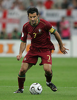 Luis Figo.  Portugal defeated England on penalty kicks after playing to a 0-0 tie in regulation in their FIFA World Cup quarterfinal match at FIFA World Cup Stadium in Gelsenkirchen, Germany, July 1, 2006.