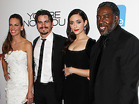 LOS ANGELES, CA, USA - OCTOBER 08: Hilary Swank, Jason Ritter, Emmy Rossum, Ernie Hudson arrive at the Los Angeles Premiere Of eOne Films' 'You're Not You' held at the Landmark Theatre on October 8, 2014 in Los Angeles, California, United States. (Photo by Celebrity Monitor)