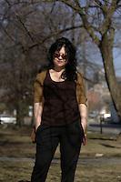 Susie Arioli en 2102.<br /> <br /> PHOTO : Pierre Roussel -  Agence Quebec Presse