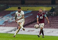 9th January 2021; Turf Moor, Burnley, Lanchashire, England; English FA Cup Football, Burnley versus Milton Keynes Dons; Ben Gladwin of MK Dons strike hits the post in extra time