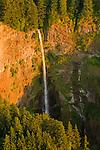 Aerial View of Multnomah Falls, Oregon