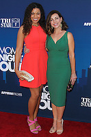 """HOLLYWOOD, LOS ANGELES, CA, USA - APRIL 29: Jordin Sparks, Shari Rigby at the Los Angeles Premiere Of TriStar Pictures' """"Mom's Night Out"""" held at the TCL Chinese Theatre IMAX on April 29, 2014 in Hollywood, Los Angeles, California, United States. (Photo by Xavier Collin/Celebrity Monitor)"""