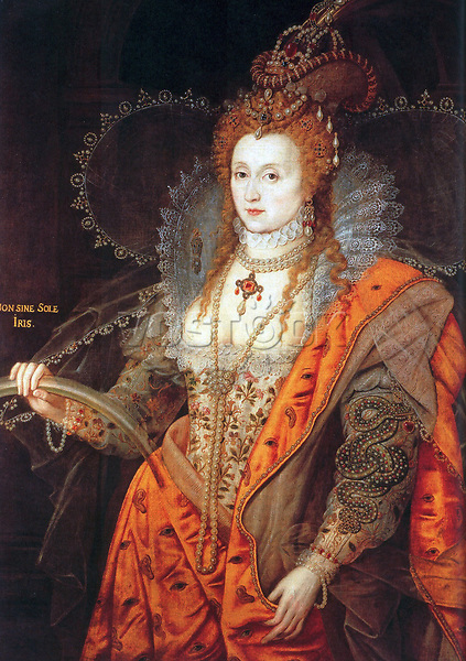 Elizabeth I (7 September 1533 – 24 March 1603) was Queen regnant of England and Queen regnant of Ireland from 17 November 1558 until her death. Sometimes called The Virgin Queen, Gloriana, or Good Queen Bess, Elizabeth was the fifth and last monarch of the Tudor dynasty. Elizabeth I's foreign policy with regard to Asia, Africa and Latin America demonstrated a new understanding of the role of England as a maritime, Protestant power in an increasingly global economy. Her reign saw major innovations in exploration, colonization and the use of England's growing maritime power.