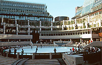 London: Broadgate--The Skating Rink.  SOM--ARUP Assoc.  Photo '90.