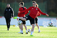 2018 11 12 Wales Training, The Vale Resort, Cardiff, Wales, UK.