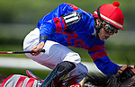 June 7, 2014: Social Inclusion, ridden by Orad Ortiz Jr., runs in the 30th running of The Woody Stephens on Belmont Stakes Day in Elmont, NY. Jon Durr/ESW/CSM