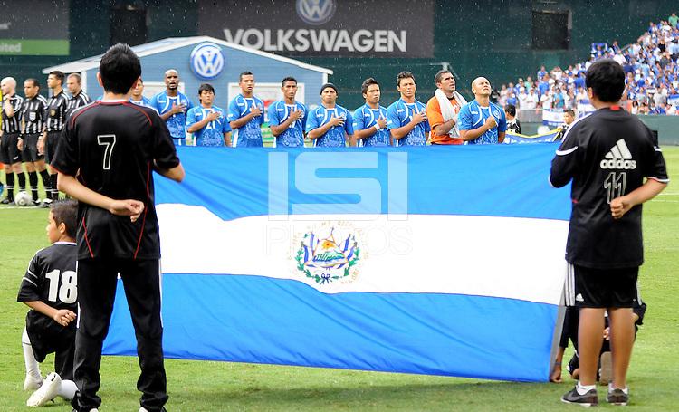 El Salvador national team. El Salvador National Team defeated Venezuela 3-2 in an international friendly at RFK Stadium, Sunday August 7, 2011.