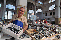 - Trieste, fish market  ....- Trieste, mercato del pesce
