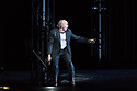"""Simon McBurney's production of Mozart's """"The Magic Flute"""" returns to English National Opera. Set design by Michael Levine, costume design by Nicky Gillibrand, with revival lighting design by Mike Gunning, and video design by Finn Ross. Picture shows: Daniel Norman (Monostatos)"""