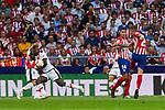 Atletico de Madrid's Lucas Hernandez and Rayo Vallecano's Luis Advincula during La Liga match. August 25, 2018. (ALTERPHOTOS/A. Perez Meca)