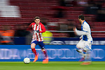 Kevin Gameiro of Atletico de Madrid in action during the La Liga 2017-18 match between Atletico de Madrid and CD Leganes at Wanda Metropolitano on February 28 2018 in Madrid, Spain. Photo by Diego Souto / Power Sport Images