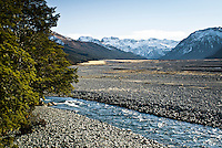 Waimakariri River near Arthut's Pass - Arthur's Pass National Park, Canterbury, New Zealand