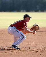 Clayton Conner / Arizona Diamondbacks 2008 Instructional League..Photo by:  Bill Mitchell/Four Seam Images