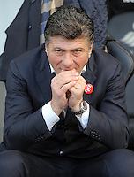 Watford manager Walter Mazzarri prior to the Premier League match between Swansea City and Watford at The Liberty Stadium on October 22, 2016 in Swansea, Wales, UK.
