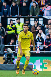 Víctor Ruiz Torre of Villarreal CF in action during the La Liga 2017-18 match between Valencia CF and Villarreal CF at Estadio de Mestalla on 23 December 2017 in Valencia, Spain. Photo by Maria Jose Segovia Carmona / Power Sport Images