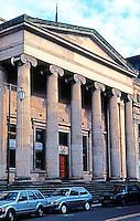 Glasgow: Royal Bank of Scotland, Royal Exchange Square, 1827. Archibald Elliot II.  Photo '90.
