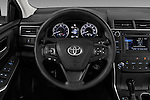 Car pictures of steering wheel view of a 2017 Toyota Camry 2.5-Auto-LE 4 Door Sedan Steering Wheel