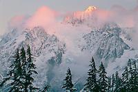 Mt. Shuksan from Heather Meadows<br /> Mount Baker National Forest<br /> North Cascade Range<br /> Washington