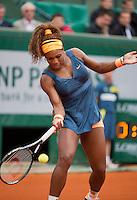 31-05-13, Tennis, France, Paris, Roland Garros,  Serena Williams
