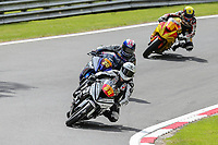 Tom Neave of the Neave Twins team (No. 68) competing in the Pirelli National Superstock 600 Championship leads the pack during Saturday Qualifying at the 2017 BSB Round 6 - Brands Hatch GP Circuit at Brands Hatch, Longfield, England on Saturday 22 July 2017. Photo by David Horn/PRiME Media Images