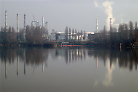 - Mantova, chemical industrial area<br /> <br /> - Mantova, zona industriale chimica