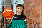 St Pauls baketballer Jamie O'Sullivan who was selected for the Irish U18 squad on Monday
