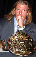 Wrestlemania XIX Press Conference  Triple H 2003                                                                          By John Barrett/PHOTOlink