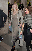 September 28 2017,PARIS FRANCE<br /> the Rick Owens Show at the Paris Fashion<br /> Week Spring Summer 2017/2018. Singer Courtney Love invited at the show.