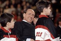 il Milan Calcio di Silvio Berlusconi festa Natale 1993