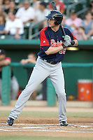 Michael Saunders #36 of the Tacoma Rainiers plays in a Pacific Coast League game against the Tucson Padres  at Kino Stadium on June 4, 2011  in Tucson, Arizona. .Photo by:  Bill Mitchell/Four Seam Images.