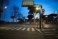 Lungotevere (it borders with Olympic Village).<br /> <br /> Rome, 12/03/20. Rome's Olympic Village district under the Italian Government lockdown for the Outbreak of the Coronavirus SARS-CoV-2 - COVID-19. On 22 March, the Italian PM Giuseppe Conte signed a new Decree Law which suspends non-essential industry productions and contains the list of allowed working activities, which includes Pharmaceutical & food Industry, oil & gas extraction, clothes & fabric, tobacco, transports, postal & banking services (timetables & number of agencies reduced), delivery, security, hotels, communication & info services, architecture & engineer, IT manufacturers & shops, call centers, domestic personnel (1.).<br /> Updates: Italy: 22.03.20, 6:00PM: 46.638 positive cases; 7.024 recovered; 5.476 died.<br /> <br /> The Rome's Olympic Village (1957-1960) was designed by: V. Cafiero, A. Libera, A. Luccichenti, V. Monaco, L. Moretti. «Built to host the approximately 8,000 athletes involved in the 1960 Olympic Games, Rome's Olympic Village is a residential complex located between Via Flaminia, the slopes of Villa Glori and Monti Parioli. It was converted into public housing [6500 inhabitants, ndr] at the end of the sporting event. The intervention is an example of organic settlement, characterized by a strong formal homogeneity, consistent with the Modern Movement's principles of urbanism. The different architectural structures are made uniform by the use of some common elements: the pilotis, ribbon windows, concrete stringcourses, and yellow brick curtain covering. At the center of the neighborhood, the Corso Francia viaduct - a road bridge about one kilometer long - was built by P.L. Nervi[…]» (2.).<br /> <br /> Info COVID-19 in Italy: http://bit.do/fzRVu (ITA) - http://bit.do/fzRV5 (ENG)<br /> 1. March 22nd Decree Law http://bit.do/fFwJn (ITA)<br /> 2. (Atlantearchitetture.beniculturali.it MiBACT, ITA - ENG) http://bit.do/fFw3H<br /> 12.03.20 Rome's Lockdown for the Outbreak of the Coron