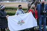January 23, 2021: The winners circle after the running of the Pippin Stakes at Oaklawn Racing Casino Resort in Hot Springs, Arkansas. ©Justin Manning/Eclipse Sportswire/CSM