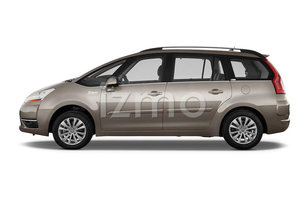 Driver side profile view of a 2010 Citroen GRAND C4 PICASSO Millenium 5 Door Minivan 2WD
