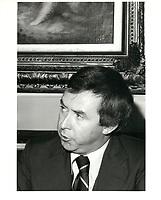 Joe Clark<br /> , le 6 mars 1979<br /> <br /> <br /> PHOTO : agence quebec presse