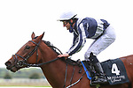 September 12, 2021: Discoveries (IRE) #4, ridden by jockey Shane Foley wins the Group 1 Moyglare Stud Stakes on the turf on Irish Champions Weekend at Curragh Racecourse in Kildare, Ireland on September 12th, 2021. Shamela Hanley/Eclipse Sportswire/CSM