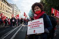 16.10.2021 - Mai Più fascismi! (No More fascisms!) - CGIL CISL UIL National Demo in Rome