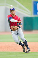 Third baseman Christian Lopes #14 during the USA Baseball 18U National Team Trials at the USA Baseball National Training Center on June 30, 2010, in Cary, North Carolina.  Photo by Brian Westerholt / Four Seam Images
